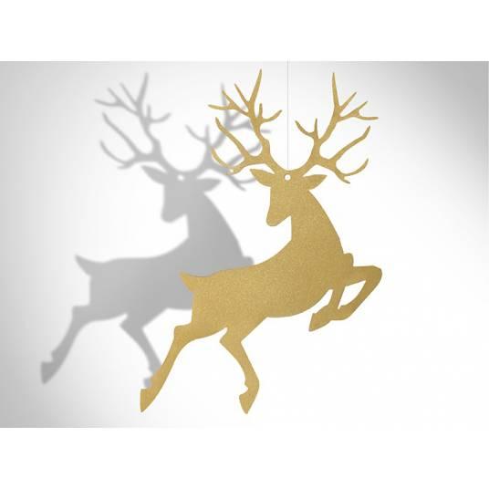 Zawieszki złote Rudolf