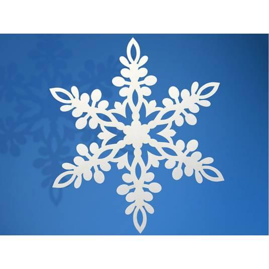 Papierowa Śnieżynka 13 cm