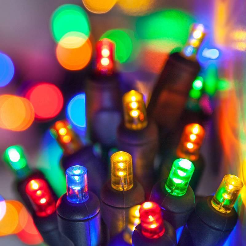 Lampki choinkowe LED multikolor