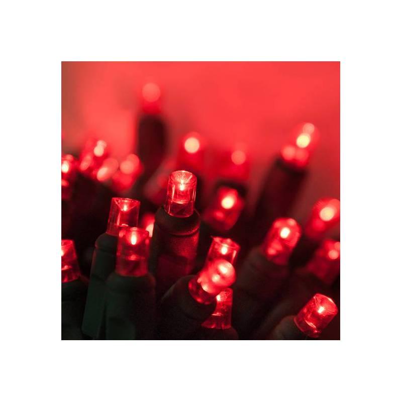 Lampki choinkowe LED czerwone