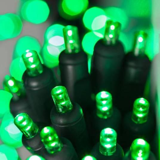 Lampki choinkowe LED zielone