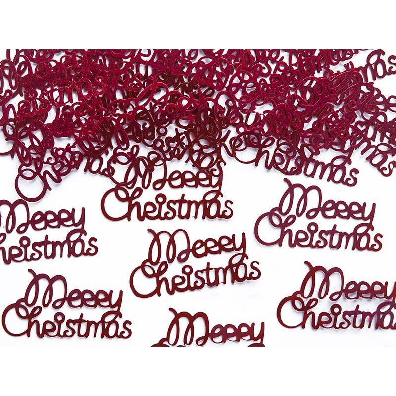 Konfetti Merry Christmas