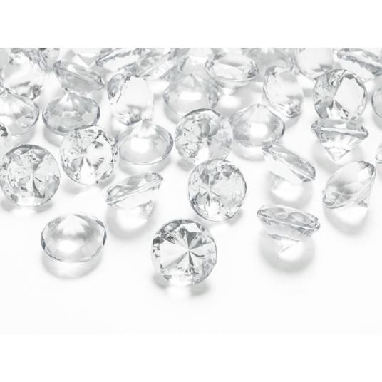 Diamentowe konfetti duże