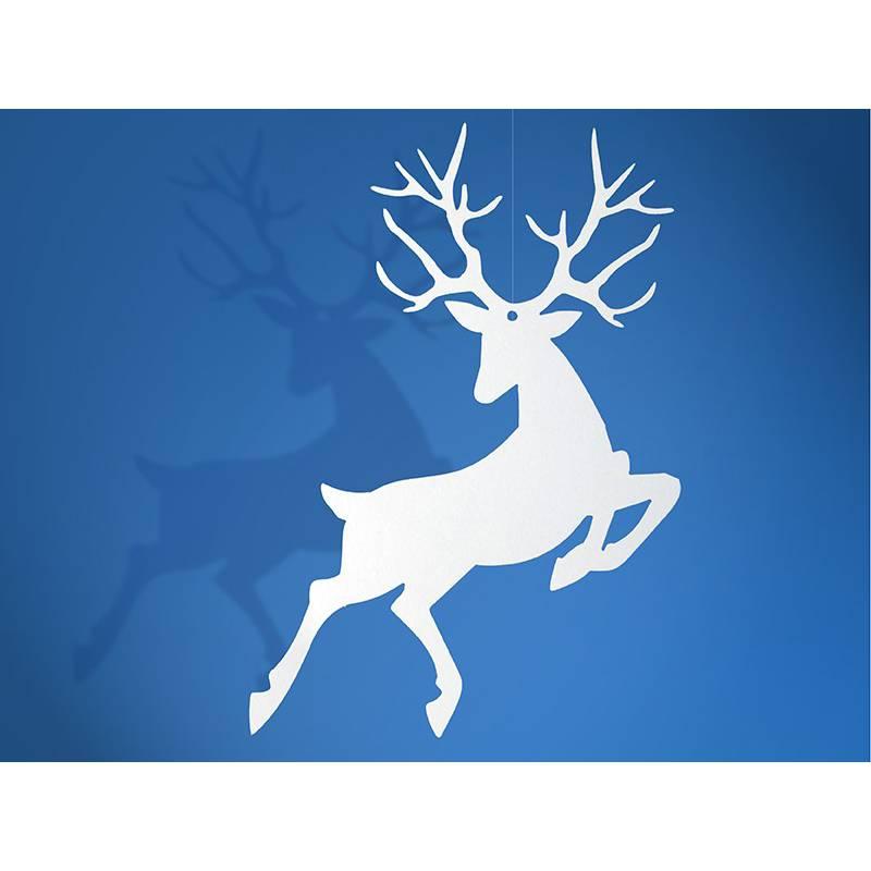 Zawieszki białe Rudolf