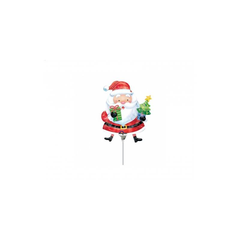"Balon foliowy 9"" Santa with Tree"