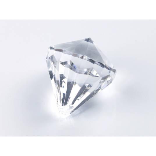 Zawieszki bezbarwne Diamenty małe
