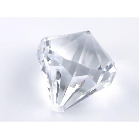Zawieszki bezbarwne Diamenty duże