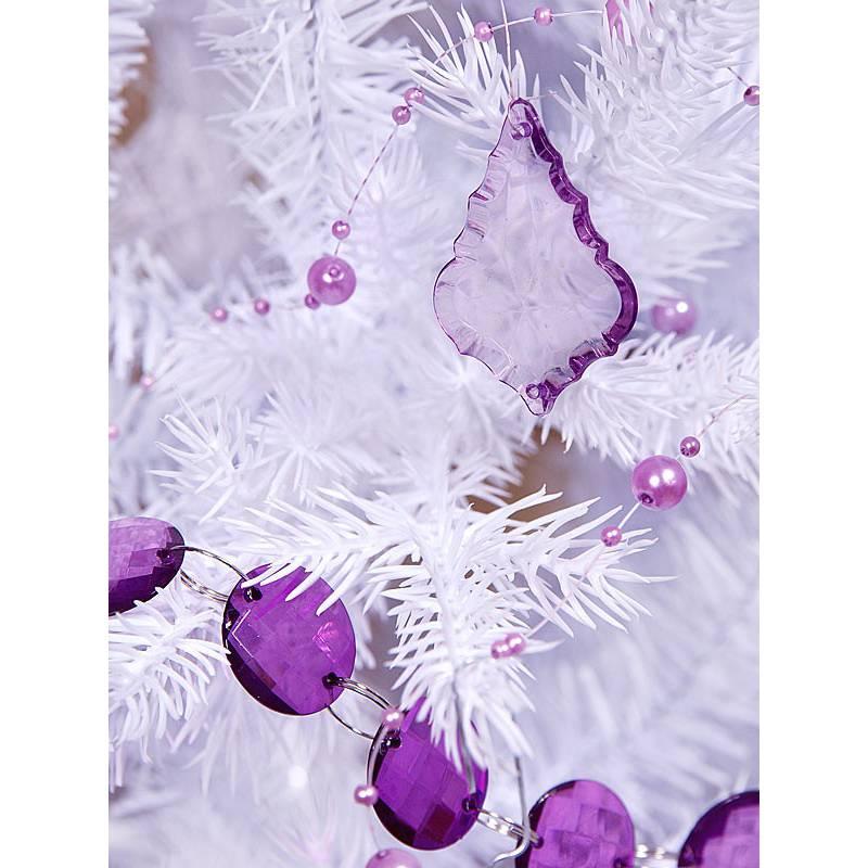 Zawieszki liliowe małe Łezki