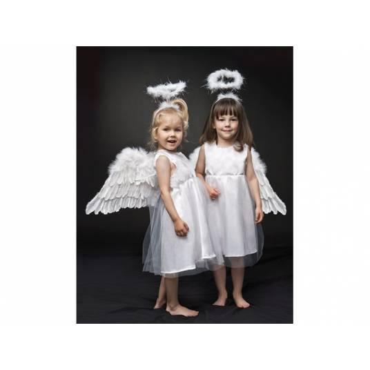 Sukienka z tiulem Aniołek 6-8 lat