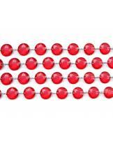 Girlanda kryształowa 18 mm 1 m