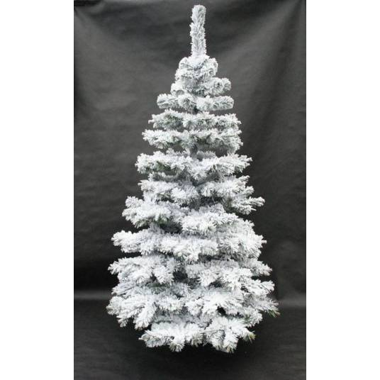 [WYSYŁKA 24H] Choinka ze sztucznym śniegiem 120 cm